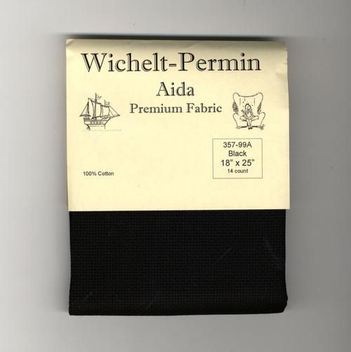 Wichelt - 14 Ct Black Aida 18 x 25 in