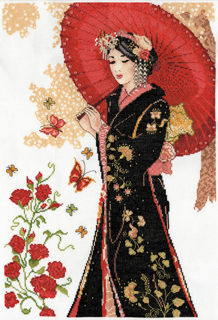 DW-9984 Design Works Counted Cross Stitch Kit Oriental Wisdom