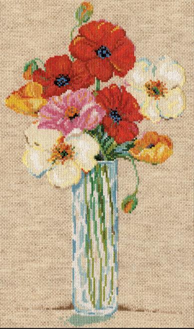 Design Works - Tall Poppy Vase
