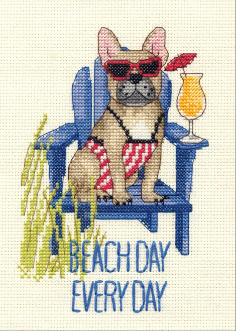 Dimensions - Beach Day Dog