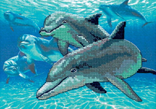 Dimensions Minis - Deep Sea Dolphins
