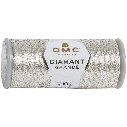 DMC Metallic Embroidery Thread 43.7yd-Light Silver 283Z