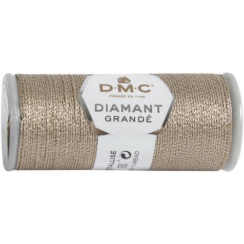 DMC - 21.8 Yard Spool of Old Rose Diamant Grande Metallic Thread #G225