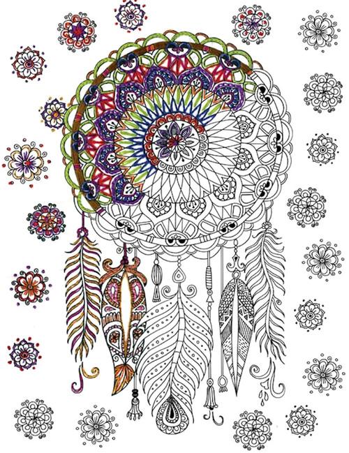 Design Works - Zenbroidery Trendy Dreamcatcher