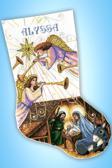 Design Works - Herald Angels Stocking