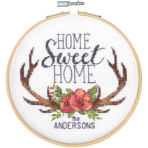 Lanarte Welcome Home Counted Cross-Stitch Kit