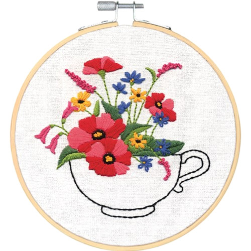 Dimensions Learn a Craft - Teacup Bouquet