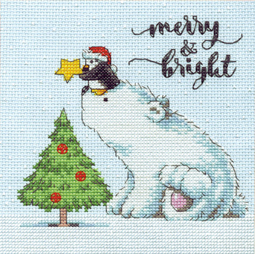 Dimensions - Merry & Bright Bear