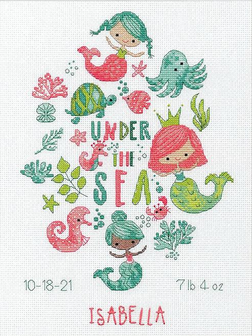 Dimensions - Under the Sea Birth Record