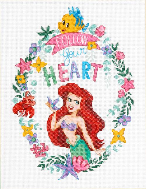 Dimensions - Disney Princess Ariel Follow Your Heart