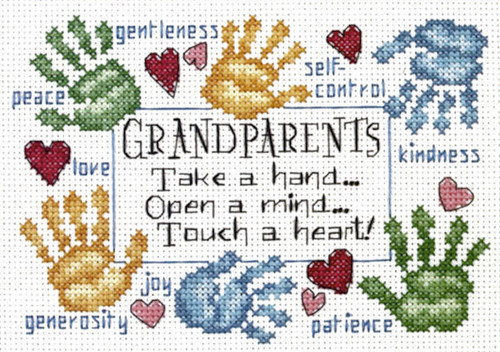 Dimensions Minis - Grandparents Touch A Heart
