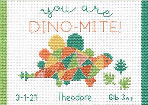 Copy of Dimensions Minis - Dino-Mite Birth Record