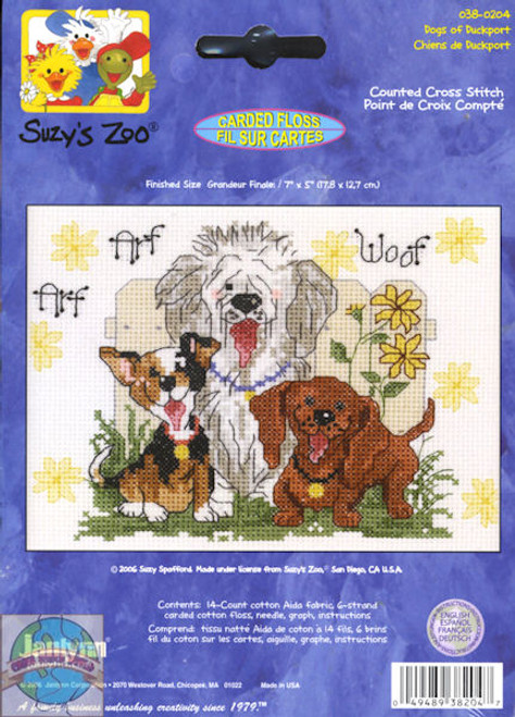 Janlynn / Suzy's Zoo - Dogs of Duckport