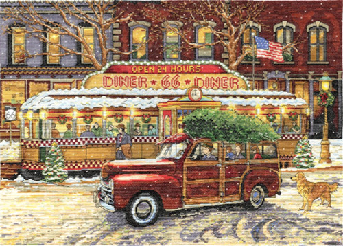 Design Works - Route 66 Christmas Diner