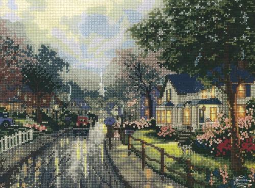Candamar / Thomas Kinkade - Hometown Memories I