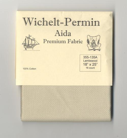 "Wichelt - 16 Count Lambswool Aida 18"" x 25"""