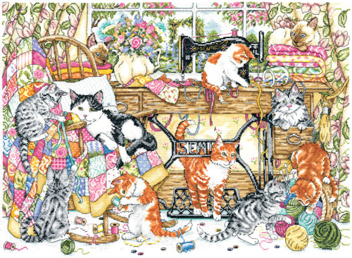 Design Works -  Sew Many Kittens