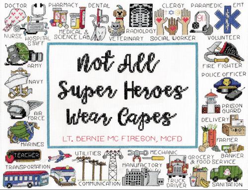 Design Works -  Super Heroes