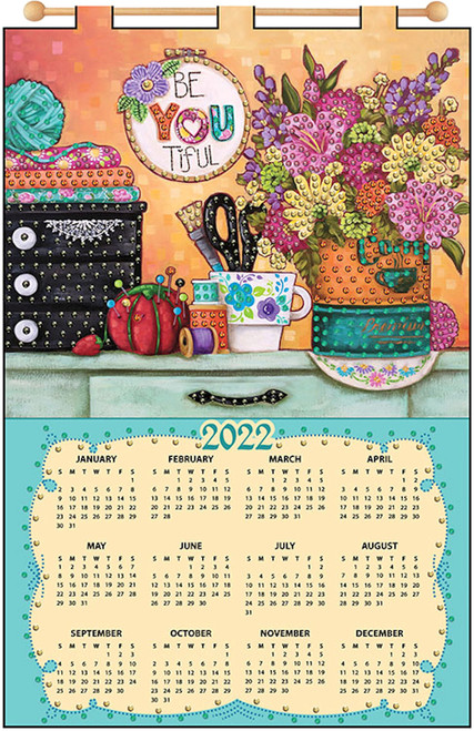 Design Works - Be You 2022 Jeweled Calendar Kit