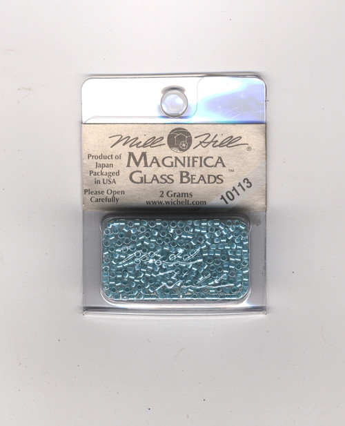 Mill Hill Magnifica Glass Beads 2g - Aqua #10113
