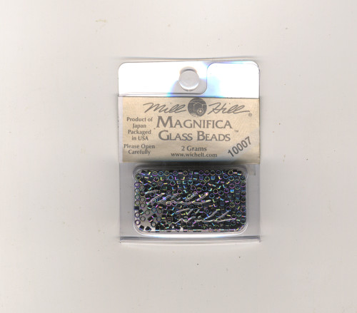 Mill Hill Magnifica Glass Beads 2g - Mercury #10007