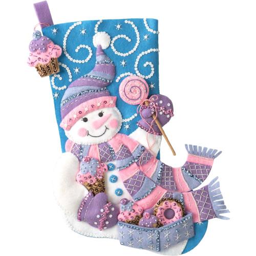 Plaid / Bucilla - Sweet Treats Christmas Stocking
