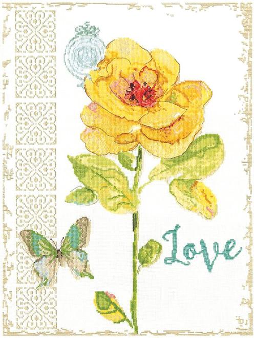 Design Works -  Love Floral
