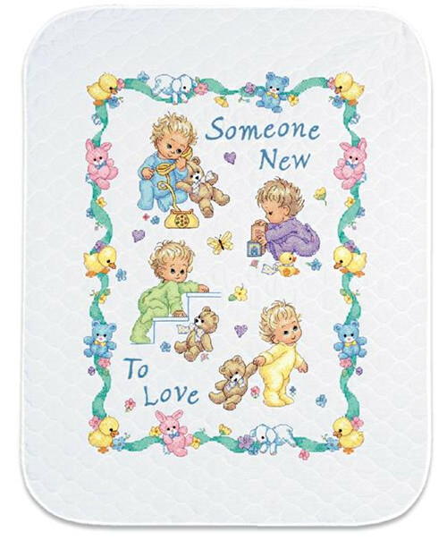 Dimensions - Someone New Baby Quilt