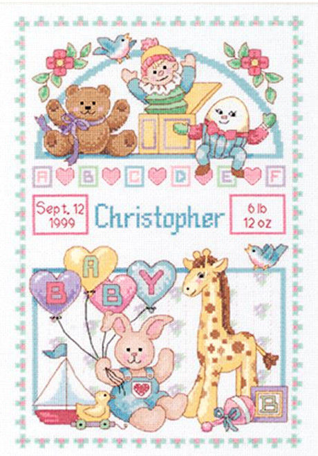 Dimensions Baby Hugs  - Birth Record for Baby