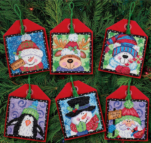 Dimensions - Christmas Pals Ornaments