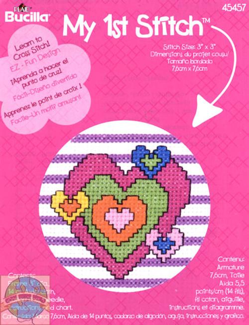 My 1st Stitch - Heart