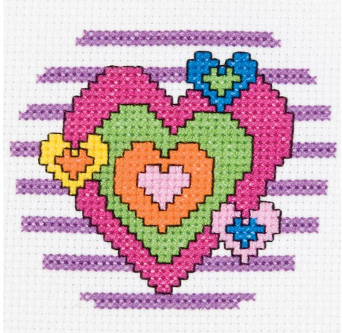 My 1st Stitch - Heart