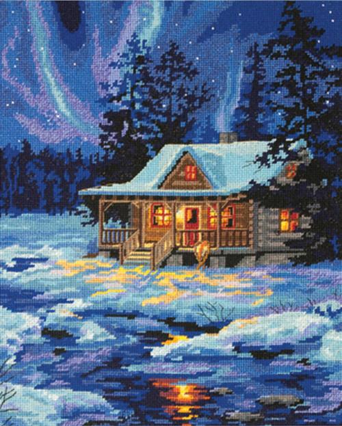 Dimensions - Winter Sky Cabin