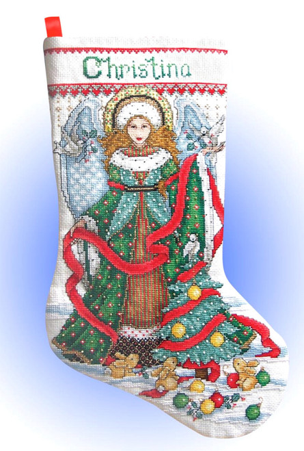 Design Works - Christmas Angel Stocking