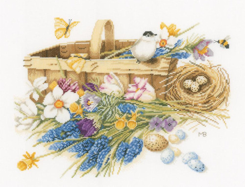 Lanarte Marjolein Bastin Spring Flowers Basket