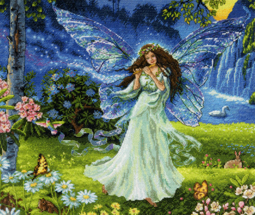 Gold Collection - Spring Fairy - CrossStitchWorld