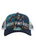 New Era Iron Man 3 Iron Patriot 9forty Adjustable Trucker Hat View 2