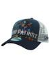 New Era Iron Man 3 Iron Patriot 9forty Adjustable Trucker Hat View 3