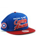 New Era Sentinel of Liberty Captain America Title 9fifty Snapback Hat View 1