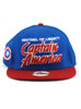New Era Sentinel of Liberty Captain America Title 9fifty Snapback Hat View 3