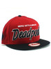 New Era Merc with a Mouth Deadpool Title 9fifty Snapback Hat View 1