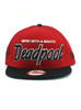New Era Merc with a Mouth Deadpool Title 9fifty Snapback Hat View 3
