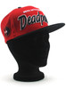 New Era Merc with a Mouth Deadpool Title 9fifty Snapback Hat View 4