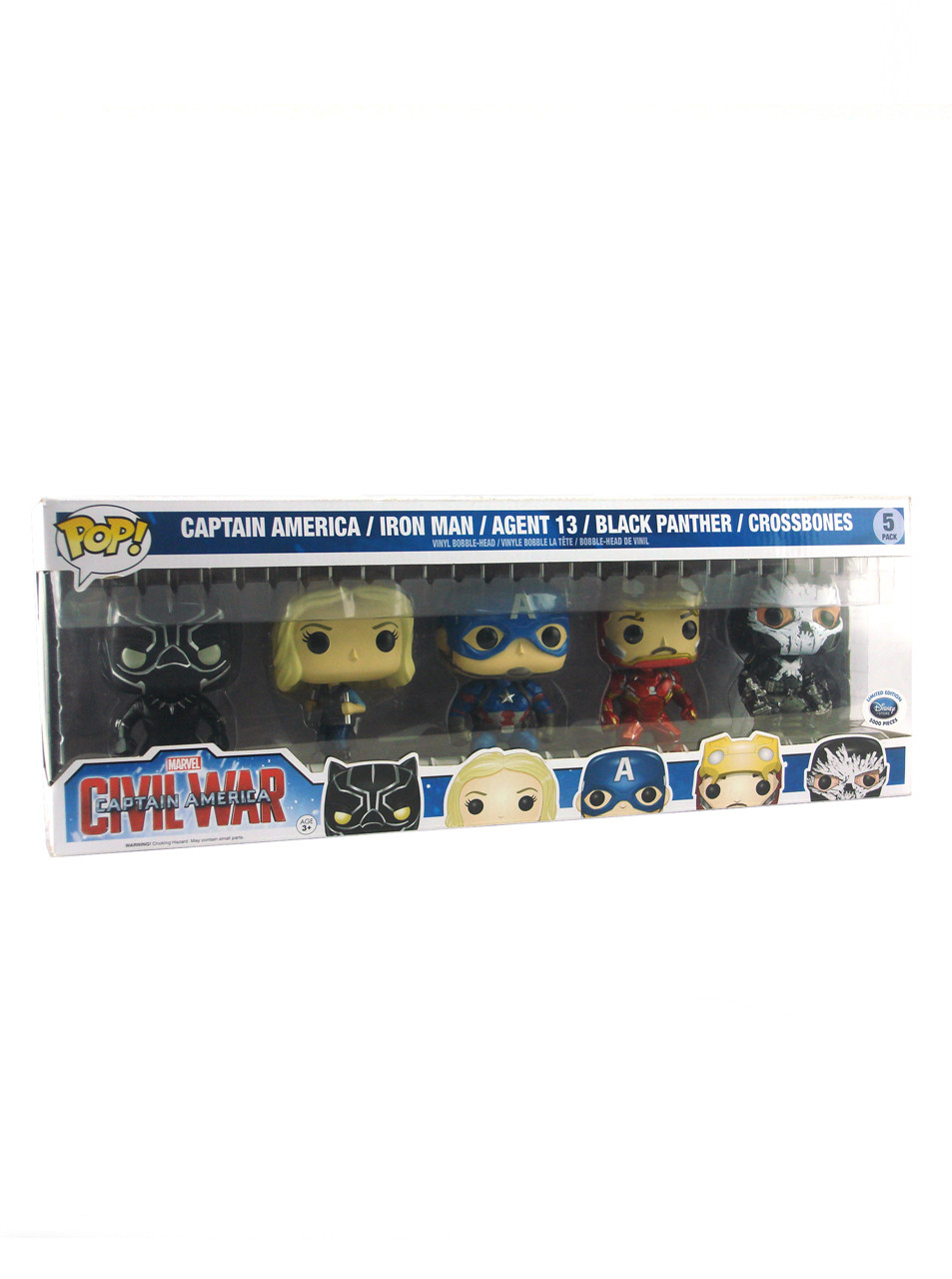 Civil War Marvel Vinyl Agent 13 Pop