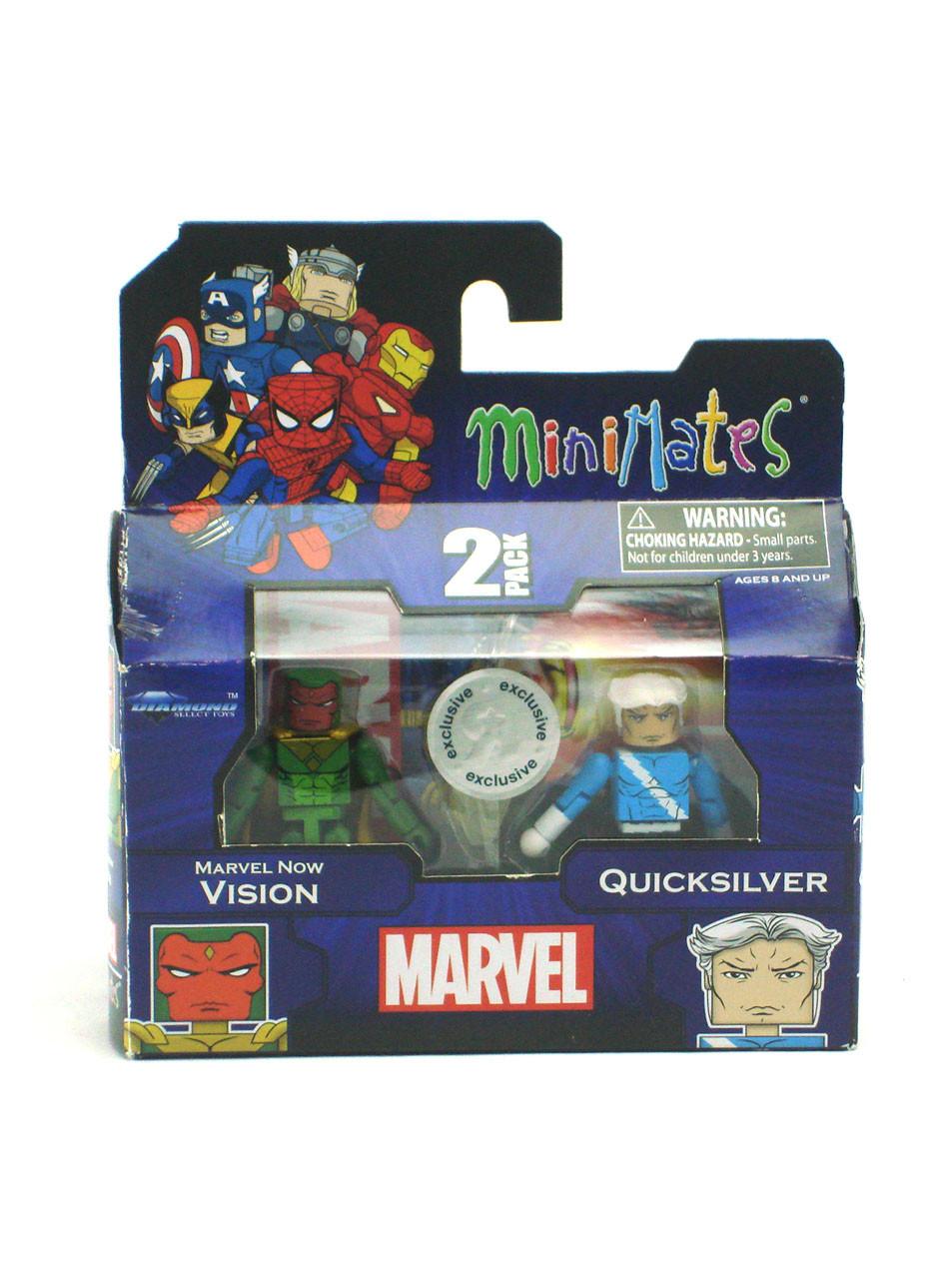 Marvel Minimates TRU Toys R Us Avengers Movie Nick Fury