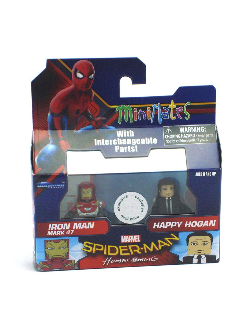 Marvel Minimates Series 35 Iron Man 2 Movie Happy Hogan Variant