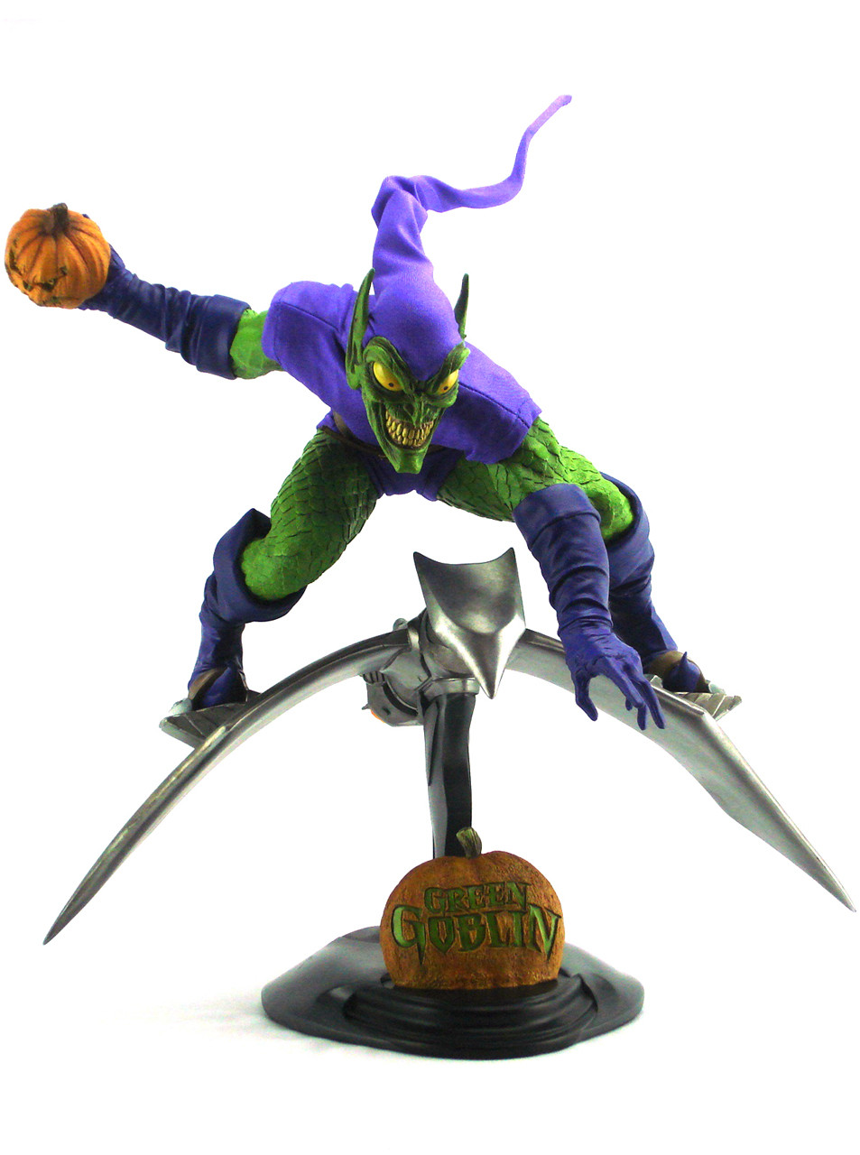 sideshow collectibles green goblin format figure artist proof