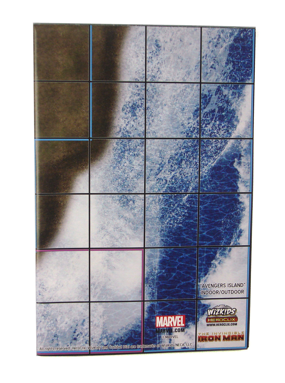 Iron man office Kinetic Marvel Heroclix 2sided Map The Invincible Iron Man Avengers Island Office Building Boondock Collectibles Marvel Heroclix 2sided Map The Invincible Iron Man Avengers