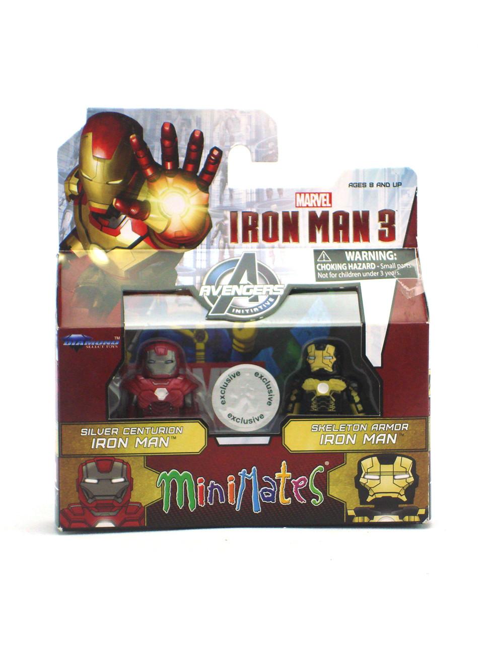 Marvel Minimates TRU Toys R Us Wave 19 Space Armor Iron Man /& Ronan the Accuser