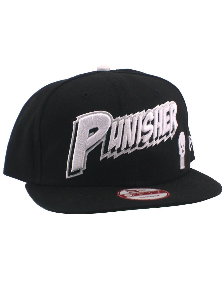 Punisher comic text new era fifty snapback hat boondock collectibles jpg  953x1280 New era punisher hat bebbe86593ef